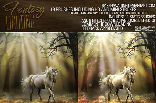 Lighteffectbrush3 in 100+ Free High Resolution Photoshop Brush Sets