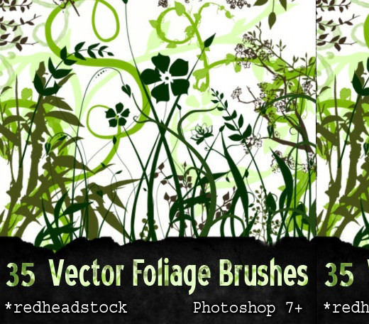 Naturesbrush105 in 100+ Free High Resolution Photoshop Brush Sets