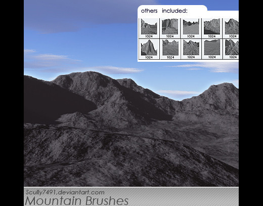 Naturesbrush117 in 100+ Free High Resolution Photoshop Brush Sets