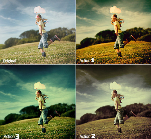 Photoshopactions76 in 80+ Time Saving and Free Photoshop Action Sets To Enhance your Photos
