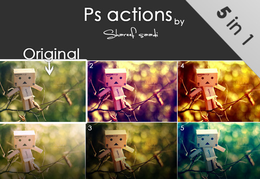 80+ Time Saving and Free Photoshop Action Sets To Enhance your