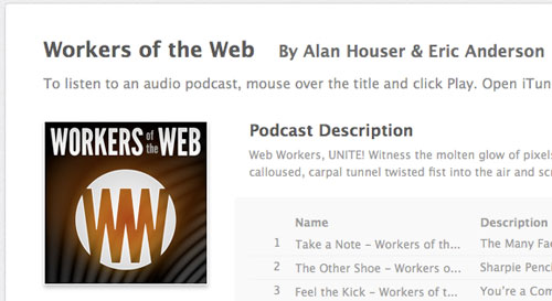 Workersofweb in Designing the Airwaves: Podcasts Part in Design