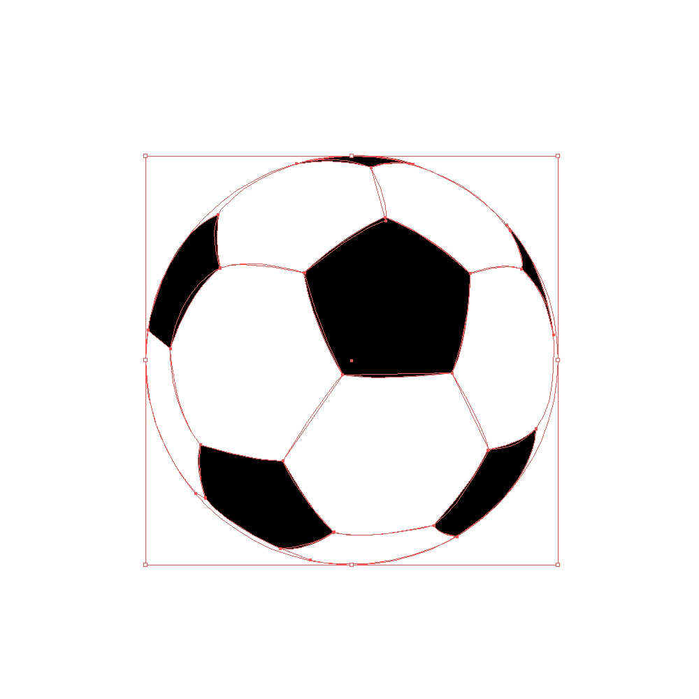 Current image for printable soccer ball template