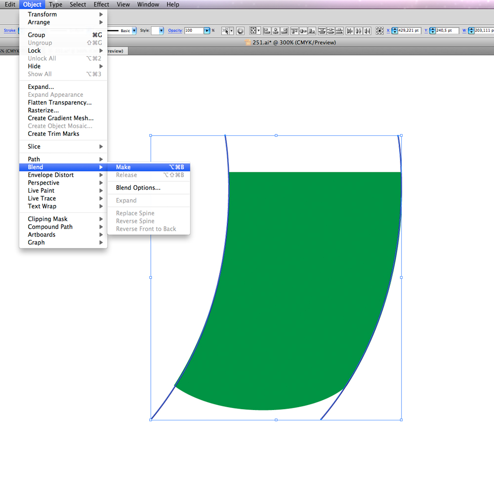 0101 in How to Create a Circus Tent in Adobe Illustrator