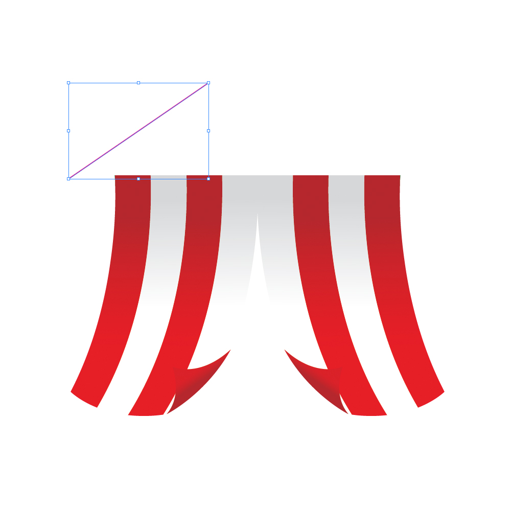 0221 in How to Create a Circus Tent in Adobe Illustrator