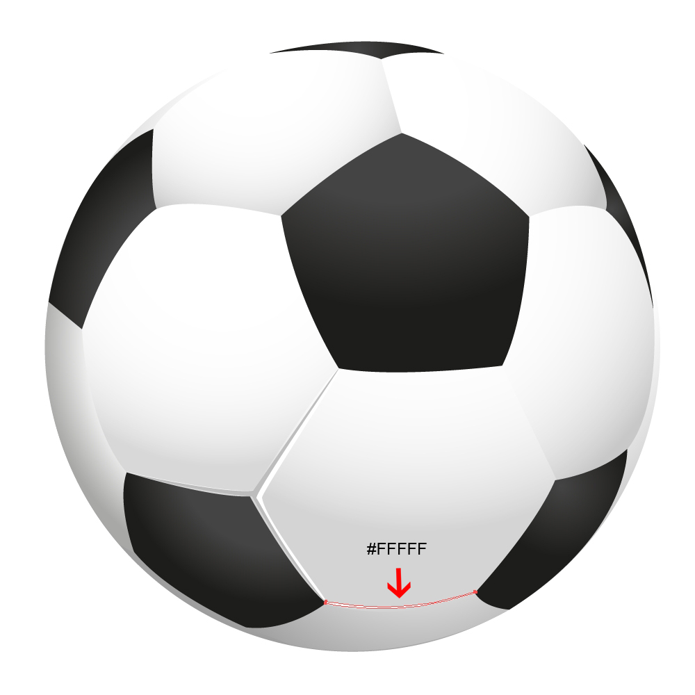 How to Create a Realistic Soccer Ball in Adobe Illustrator - noupe