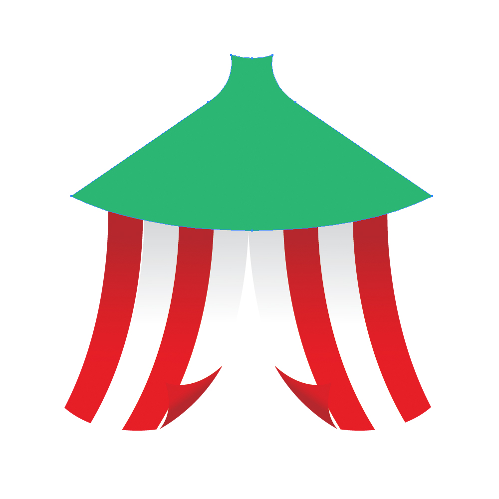 Letu0027s ...  sc 1 st  Noupe & How to Create a Circus Tent in Adobe Illustrator - noupe