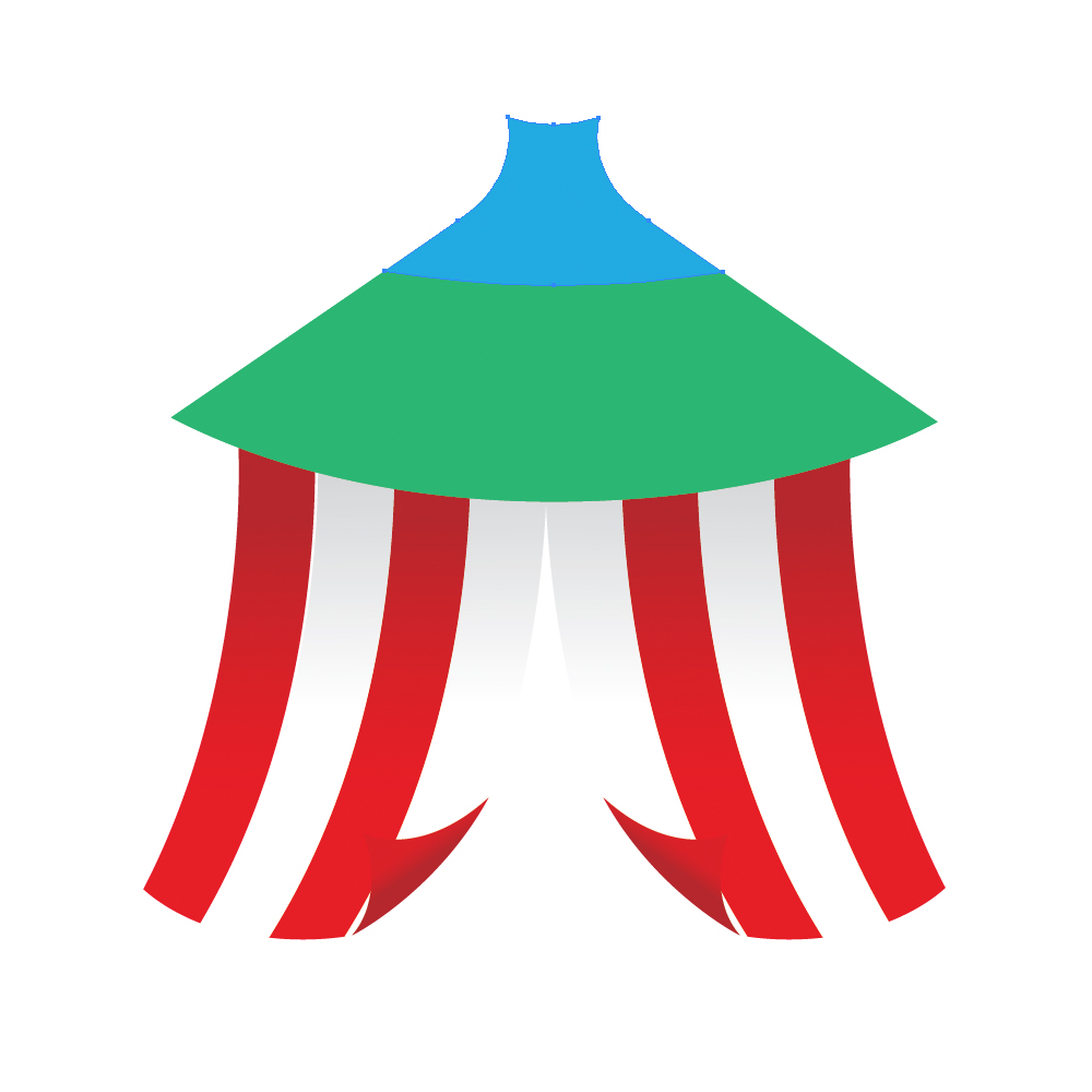 0311 in How to Create a Circus Tent in Adobe Illustrator