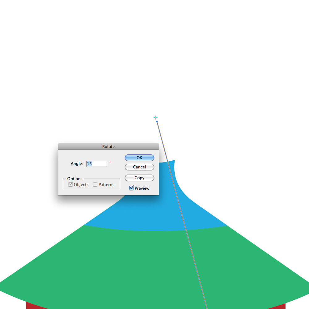 0341 in How to Create a Circus Tent in Adobe Illustrator