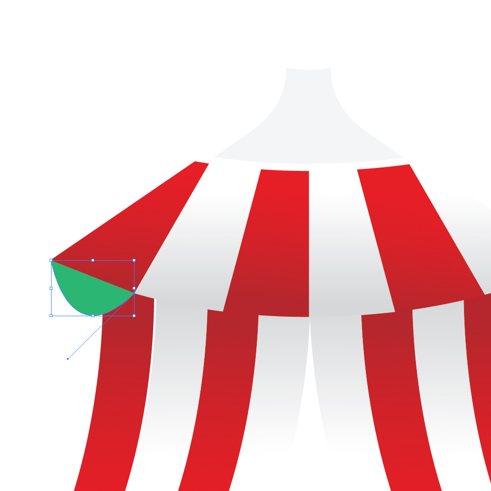 040a in How to Create a Circus Tent in Adobe Illustrator