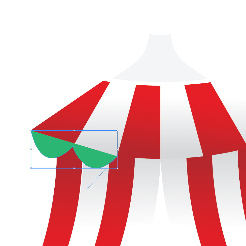040b in How to Create a Circus Tent in Adobe Illustrator