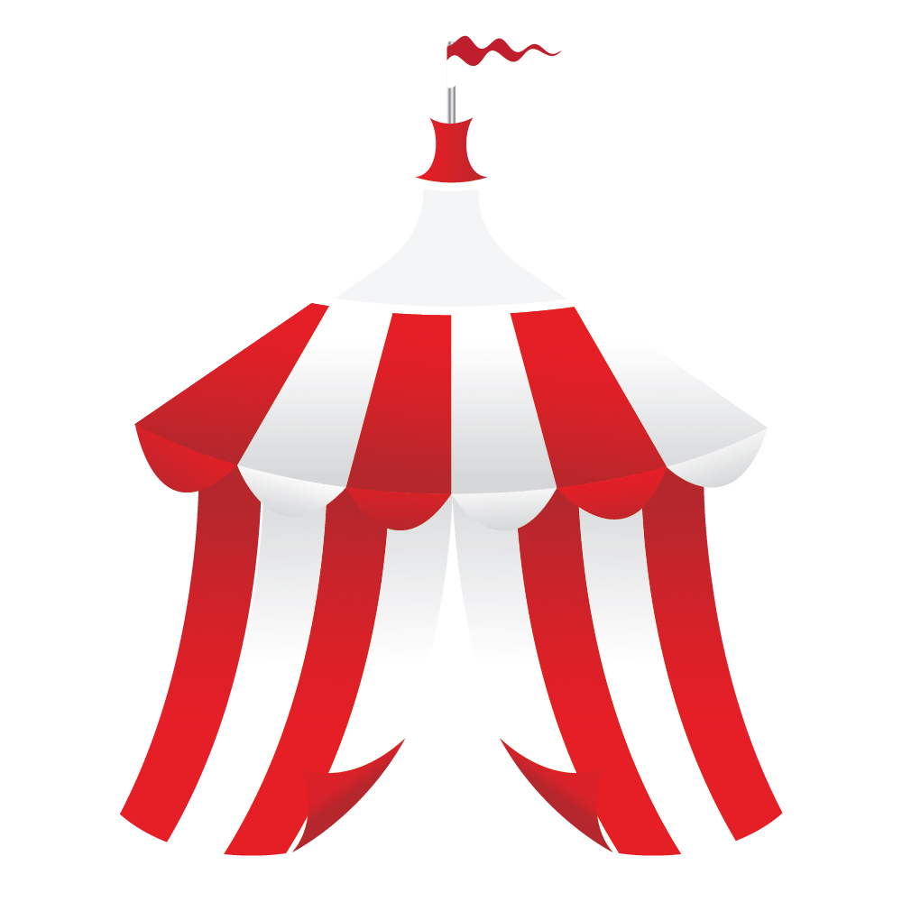 Grab ...  sc 1 st  Noupe & How to Create a Circus Tent in Adobe Illustrator - noupe