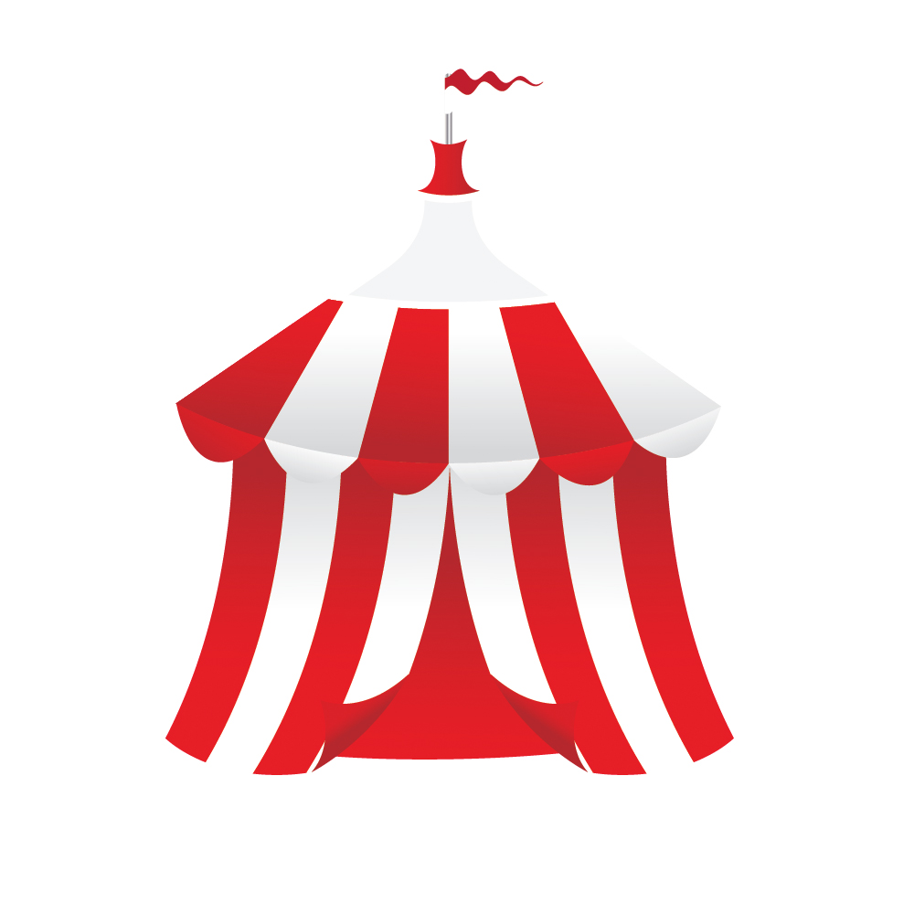 057 in How to Create a Circus Tent in Adobe Illustrator