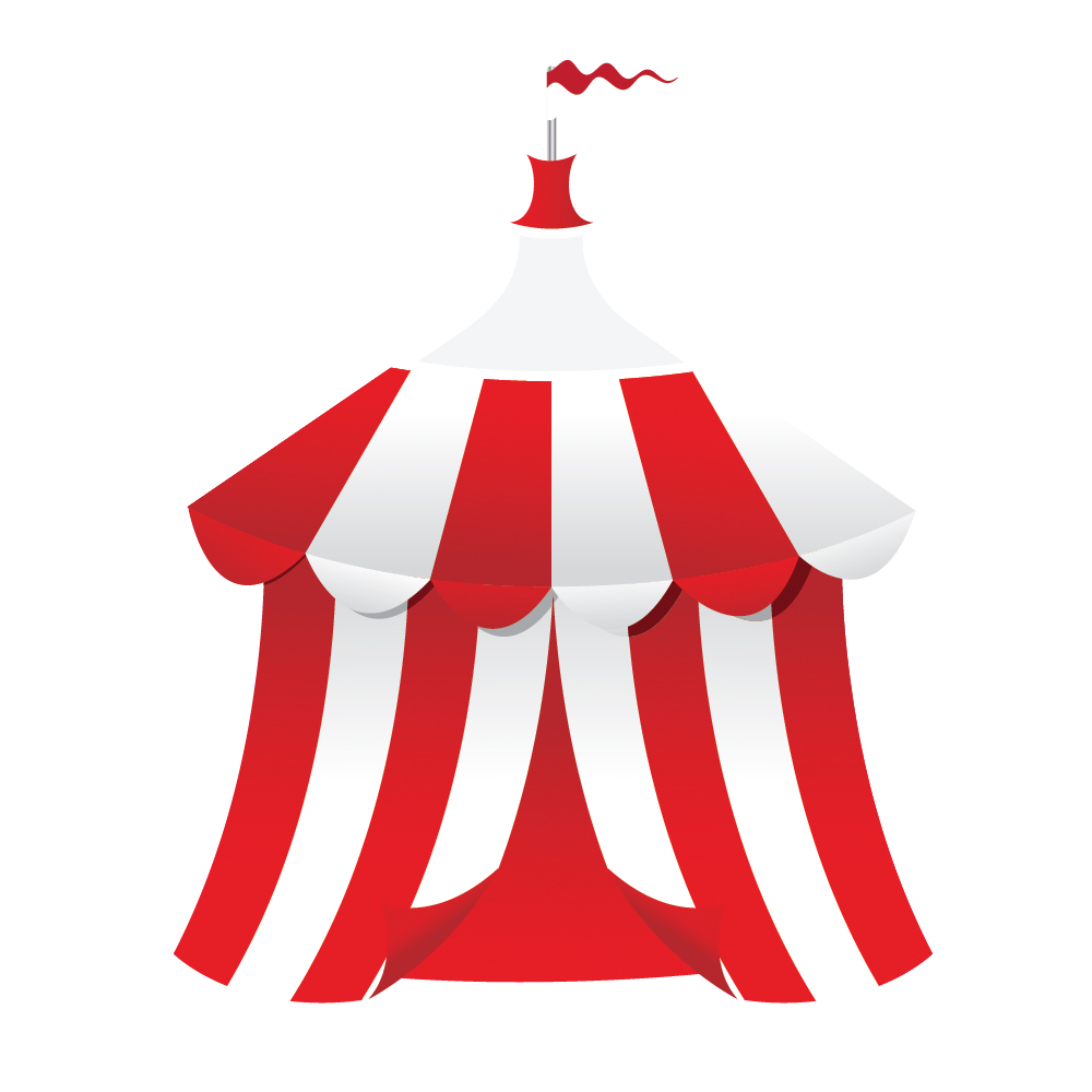 061 in How to Create a Circus Tent in Adobe Illustrator