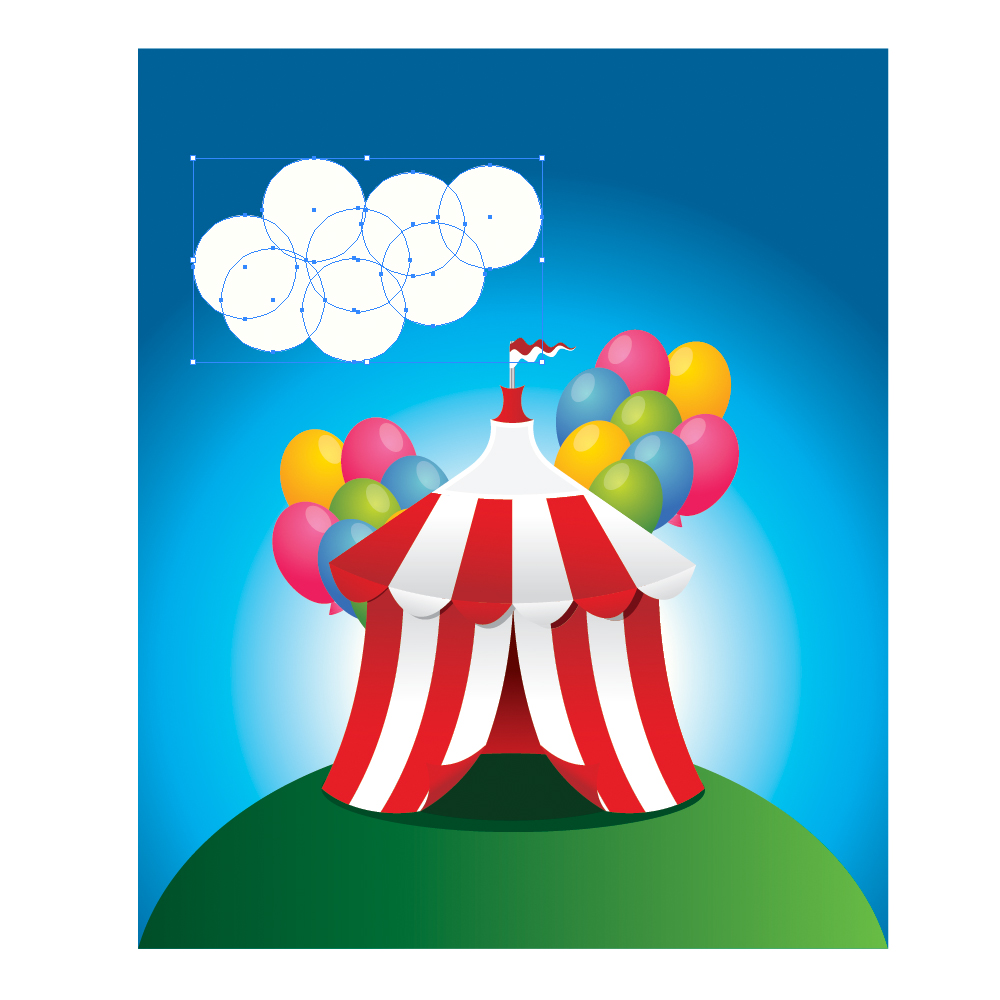 0771 in How to Create a Circus Tent in Adobe Illustrator