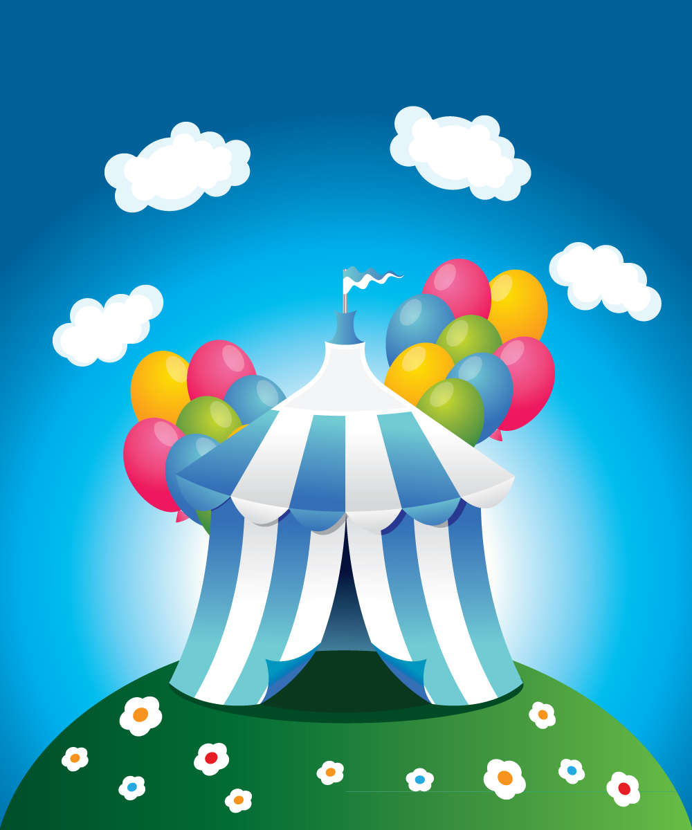 Preview-image-2 in How to Create a Circus Tent in Adobe Illustrator