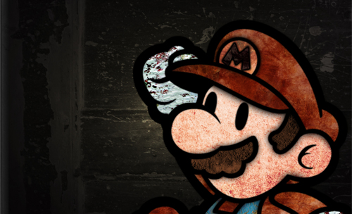 Texture-Mario in Grungy Wallpaper and Resource Goldmine