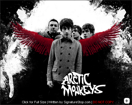 Arcticmonkeystut in Grungy Wallpaper and Resource Goldmine