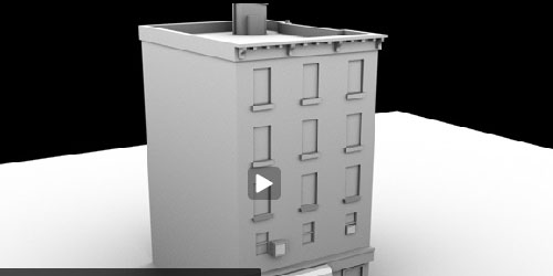 How to Model a Low Poly Building for Games - Maya Tutorial