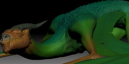 dragon in 3d modeling tutorials to ignite your creativity