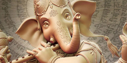 Making of Ganesha - God of Wisdom