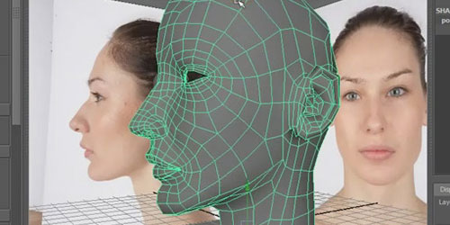 Video Tutorial: Head Modeling in Maya