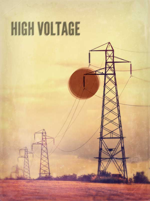 Highvoltage in A Collection of Retro & Vintage Design Resources