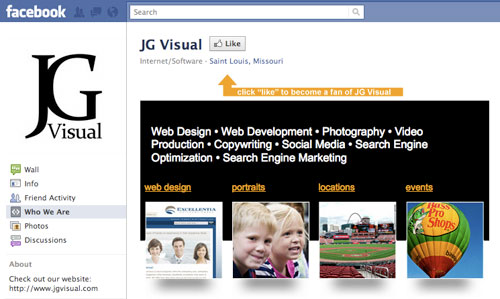 Jgvisual1 in How to Design and Program a Facebook Landing Page