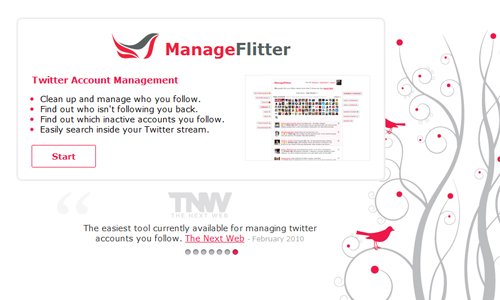 Manageflitter in A Roundup of Valuable Twitter Tools