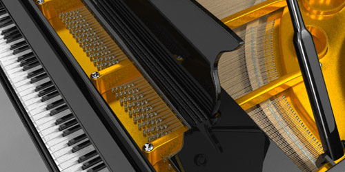 Create a Grand Piano in Maya Lessons 01-03