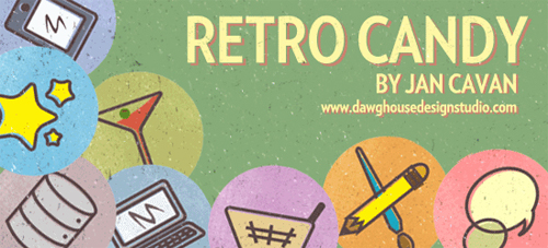 Retrocandy in A Collection of Retro & Vintage Design Resources