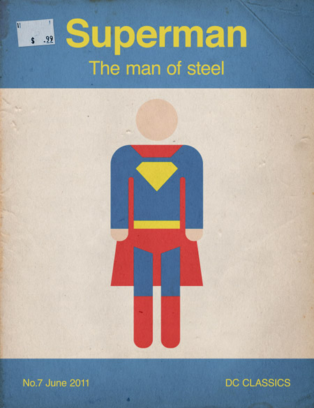 Supermantut in A Collection of Retro & Vintage Design Resources