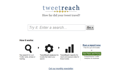 Tweetreach in A Roundup of Valuable Twitter Tools