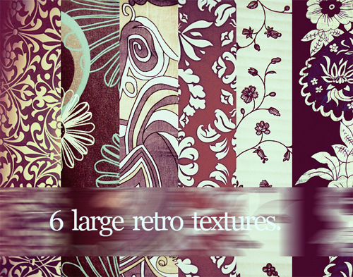 Vintageretrotextures in A Collection of Retro & Vintage Design Resources