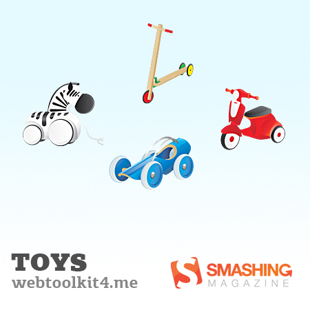 Vintagetoys in A Collection of Retro & Vintage Design Resources