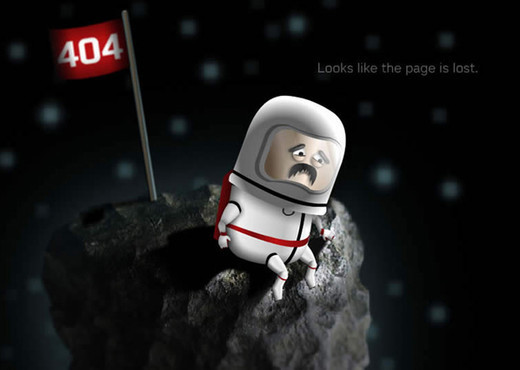 Showcase of Creative and Entertaining 404 Error Pages