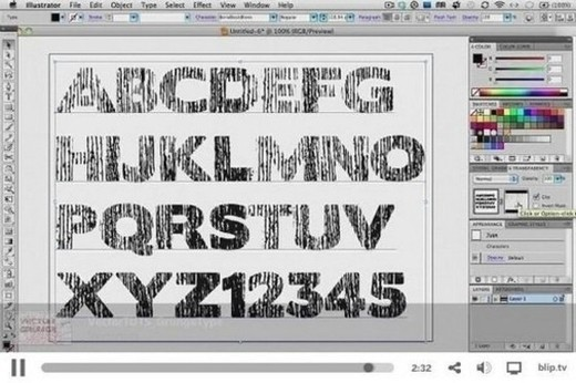 Texteffectstuts49 in Outstanding Text Effects Tutorials in Illustrator