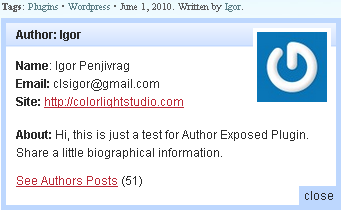 Author Exposed