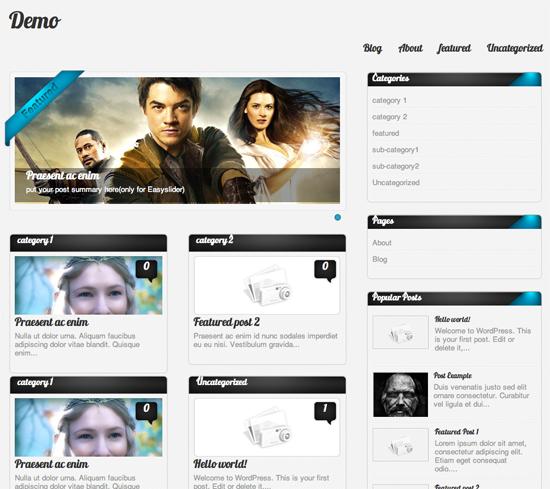 Amphion Lite WordPress Theme