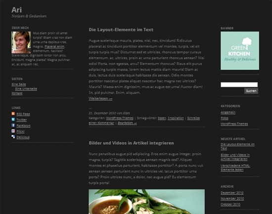 Ari WordPress Theme