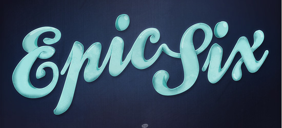 Epic Six Typography