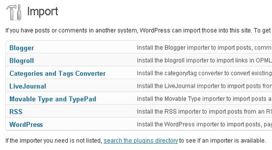 Restoring Content Using WordPress