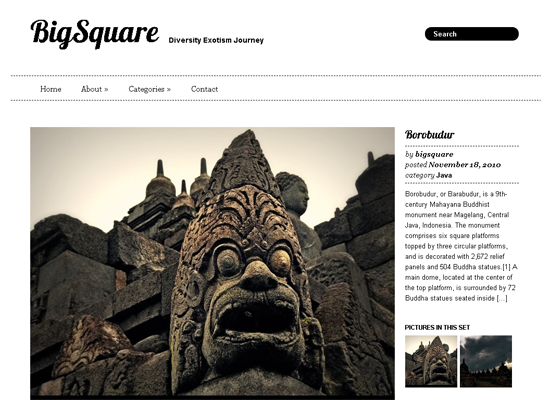 BigSquare WordPress Theme