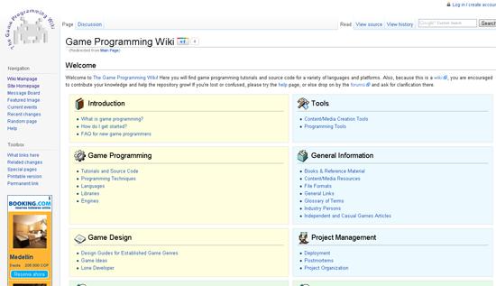 Game Programming Wiki