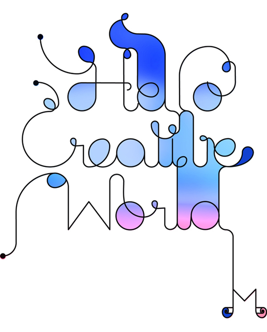 A Showcase of Artistic Typography