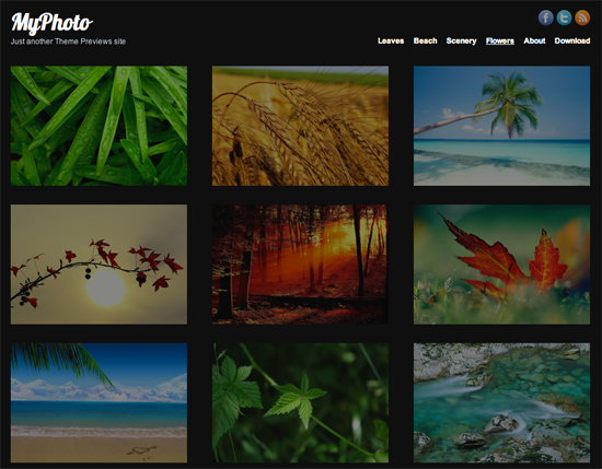 MyPhoto WordPress Theme