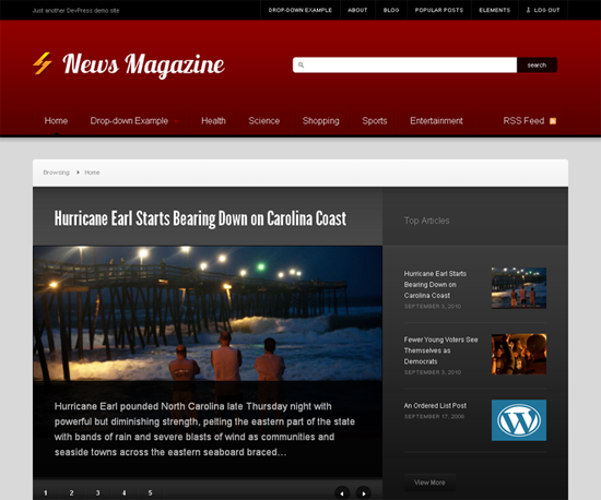50 Great Free WordPress Themes From 2011