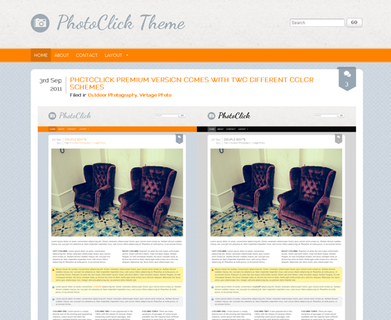 PhotoClick WordPress Theme