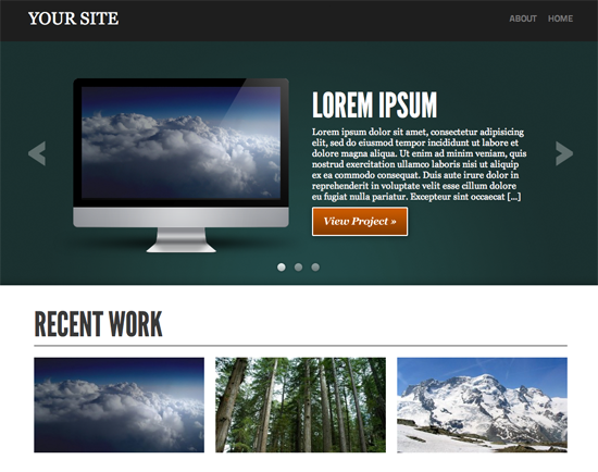 Showcase WordPress Theme