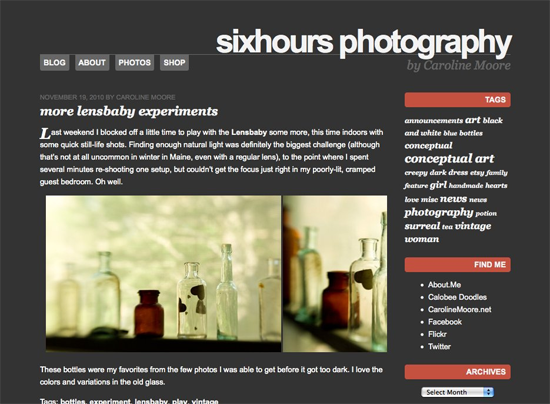 SixHours WordPress Theme